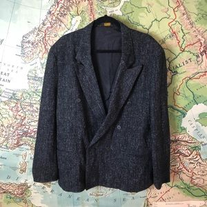 Vintage 80s Double Breasted Blazer